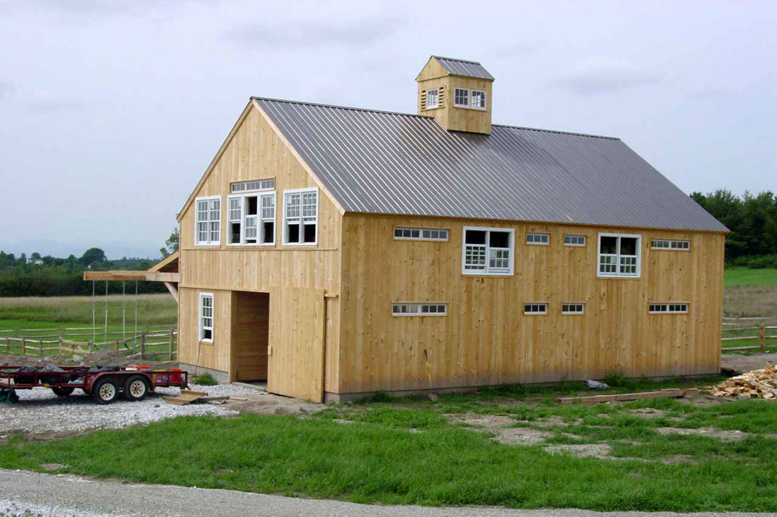 Horse Barn and Apartment