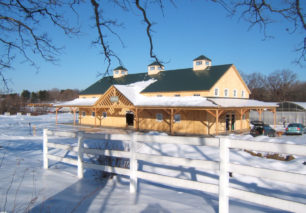 Geobarns: Pippin Hill Farm Winery construction – event
