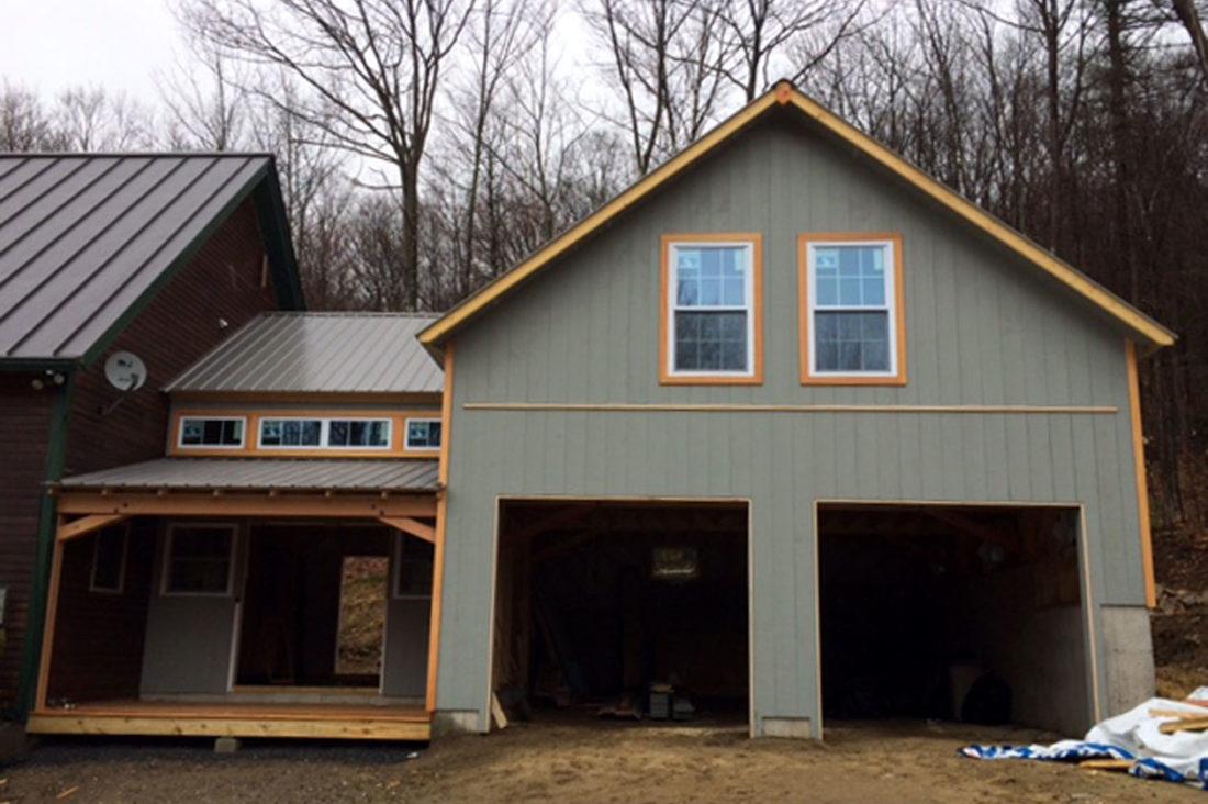New Hampshire Garage Loft